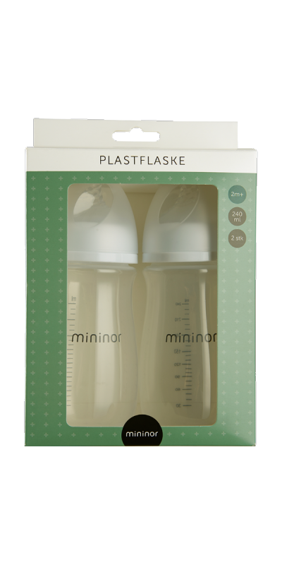 Plastic Bottle 240ml 2m+ 2-pack