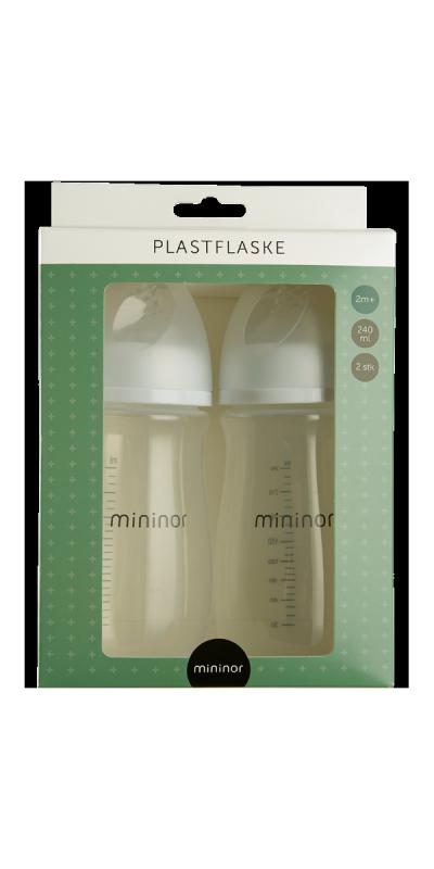 Plastic Bottle 240ml 2m+ 2-pack
